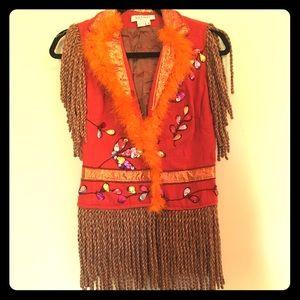 Costume Jacket/Vest Girl 10/12.